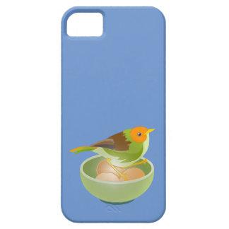 Jerarquización del pájaro funda para iPhone SE/5/5s