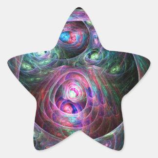 Jerarquizado Pegatina En Forma De Estrella