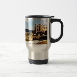 Jerash Ancient Roman City Travel Mug