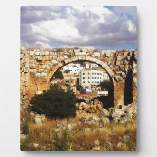 Jerash Roman Arch Plaques