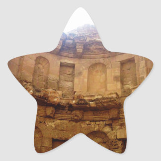 Jerash Roman Architecture Star Sticker