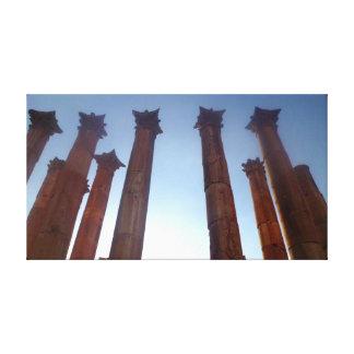 Jerash Roman Columns 2 Canvas Print