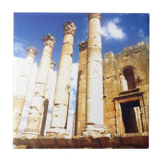Jerash Roman Pillars Tile