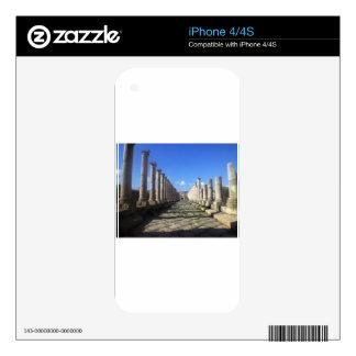 Jerash Roman Road iPhone 4S Decals