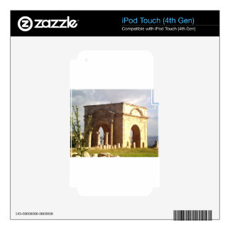 Jerash Roman Structure Skins For iPod Touch 4G