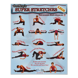 Jereflexy's Super Stretches Poster