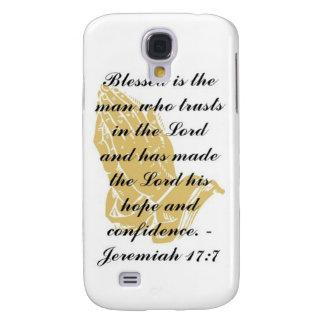 Jeremiah 17:7 iPhone 3 Skin Samsung Galaxy S4 Case