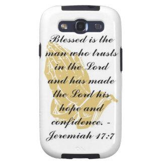 Jeremiah 17:7 Samsung Galaxy S Skin Samsung Galaxy S3 Covers