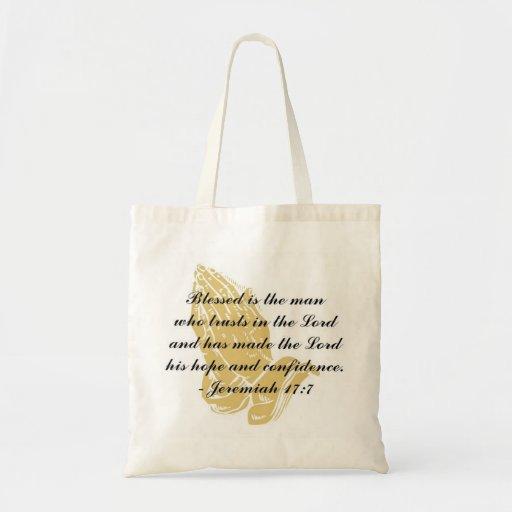 Jeremiah 17:7 Tote Bag