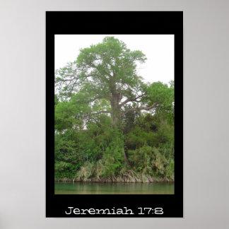 Jeremiah 17:8 posters