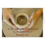 Jeremiah 18:6 - Blank Inside Cards