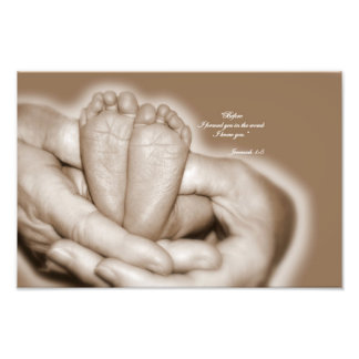 Jeremiah 1:5  Before I formed you in the womb Photo Print