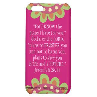 Jeremiah 2911 Scripture iPhone Prosper Hope Future iPhone 5C Case