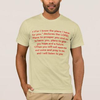 Jeremiah 29, 11-14 T-Shirt