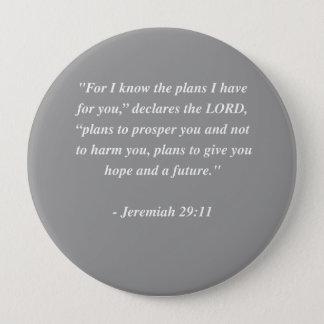 JEREMIAH 29:11 Bible Verse Button