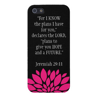 Jeremiah 29 11 Bible Verse iPhone 5 Case Black