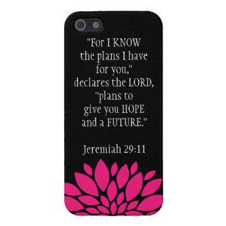 Jeremiah 29 11 Bible Verse iPhone 5 Case Black