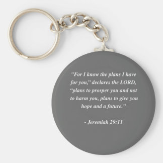 JEREMIAH 29 11 Bible Verse Keychains