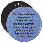 jeremiah 29-11 buttons