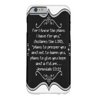 Jeremiah 29 11 Custom Christian Gift iPhone 6 Case