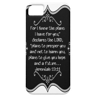 Jeremiah 29:11 Custom Christian Gift iPhone 5 Covers