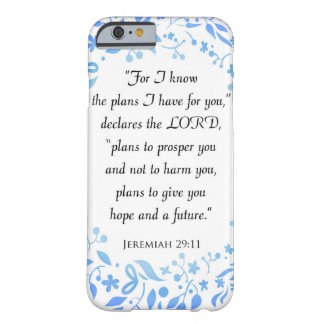 Jeremiah 29:11 For I know the Plans iPhone 6 Case