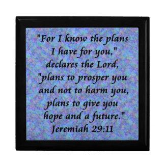 jeremiah 29-11 giftbox keepsake box
