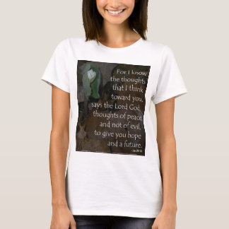 Jeremiah 29:11 hope for the future T-Shirt