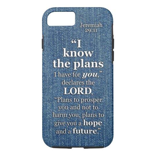 Faith Quote iPhone 11 case