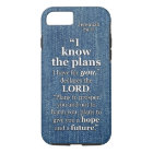 Jeremiah 29:11 I Know The Plans Bible Verse Quote iPhone 8/7 Case