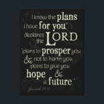 "Jeremiah 29:11 I know the plans I have for you... Canvas Print<br><div class=""desc"">&quot;I know the plans I have for you, &quot; declares the Lord, &quot;plans to prosper you and not to harm you, plans to give you hope and a future.&quot; Jeremiah 29:11 is a Bible verse that offers hope to all believers. Let this Old Testament scriptures give you encouragement. This beautiful...</div>"