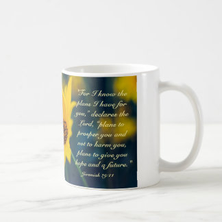 Jeremiah 29:11, I know the Plans I Have for You Coffee Mug