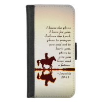 Jeremiah 29:11, I know the plans I have for you iPhone 8/7 Wallet Case