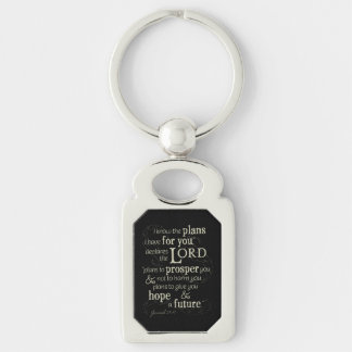 Jeremiah 29:11 I know the plans I have for you... Keychain