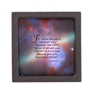 Jeremiah 29:11 jewelry box