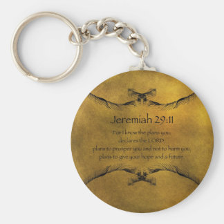 Jeremiah 29:11 keychain