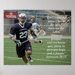 Jeremiah 29:11 Lacrosse Print