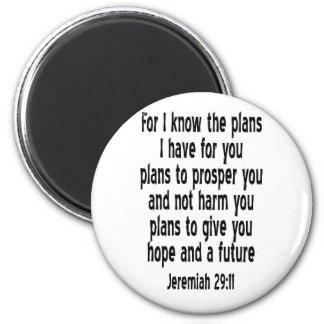 Jeremiah 29:11 fridge magnets
