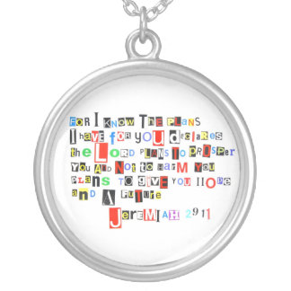 Jeremiah 29:11 Necklace