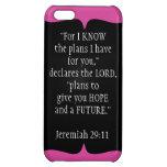Jeremiah 29 11 negro del caso del iPhone 5 del ver