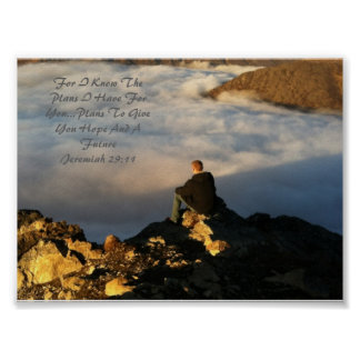 Jeremiah 29:11 posters