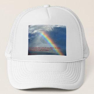 Jeremiah 29:11 Rainbow Trucker Hat