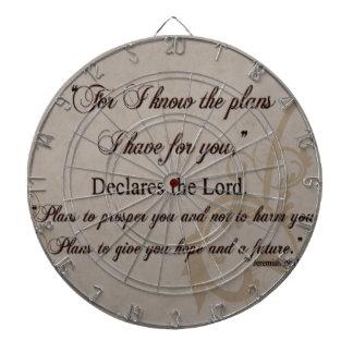 Jeremiah 29:11 Scripture Gift Dartboard