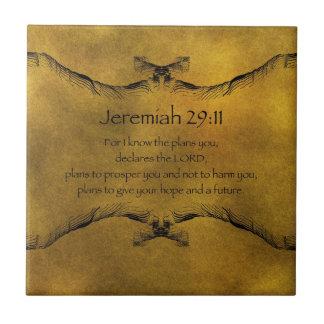 Jeremiah 29:11 tiles