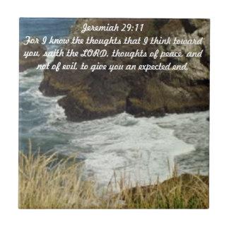 Jeremiah 29:11 Tile