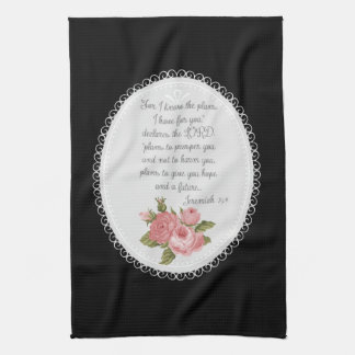 Jeremiah 29:11 Victorian Christian Gift Kitchen Towels