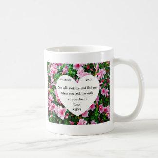 Jeremiah 29:13 coffee mug