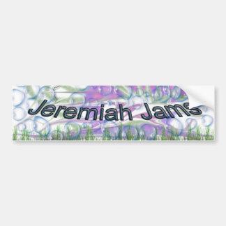 Jeremiah atasc a la pegatina para el parachoques pegatina para auto