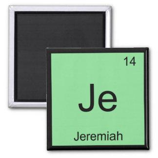 Jeremiah  Name Chemistry Element Periodic Table Fridge Magnet