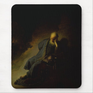 Jeremiah que lamenta de la destrucción de tapete de ratones